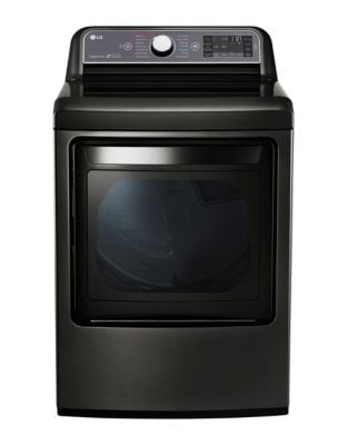DLEX7600KE - 7.3 cu. ft. TurboSteam Dryer with Easyload Black Stainless Steel photo