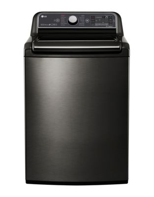 WT7600HKA - 6.0 CU. FT. High Efficiency Top Load Steam Washer with TurboWash 2.0 Technology Black Stainless Steel photo