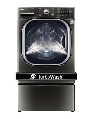 WM4370HKA - 5.2 Cu. Ft. Ultra Large Capacity TurboWash Washer Black Stainless Steel photo