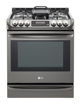 LSG5513BD 6.3 cu. ft. Slide-In Gas Range with ProBake Convection- Black Stainless photo