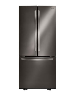 LFNS22520D -30 In Black Stainless Steel French Door Refrigerator with Smart Cooling System, 22 cu. Ft. Black Stainless Steel photo