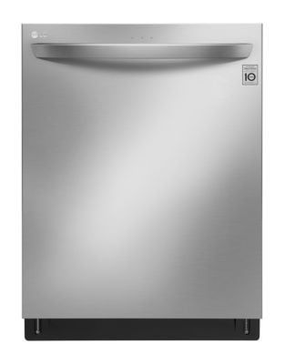 LDT7797ST Top Control with Matching Commercial Handle QuadWash and Height Adjustable 3rd Rack - Stainless Steel photo