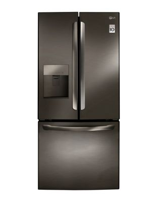 LFD22786SD - 30 In, Black Stainless Steel French Door Refrigerator with Water Dispenser and Ice Maker photo