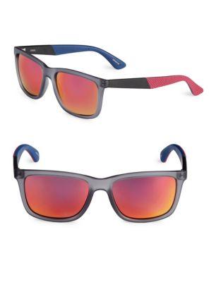 72b0f5f5c659 QUICK VIEW. Izod. 56mm Mirrored Wayfarer Sunglasses