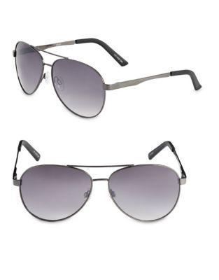 b8e324c5ae0e QUICK VIEW. Izod. 63mm Metal Aviator Sunglasses