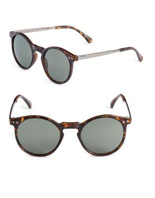 38d9bbd3fdb7 QUICK VIEW. Alfred Sung. 50mm Tortoiseshell Round Cats-Eye Sunglasses