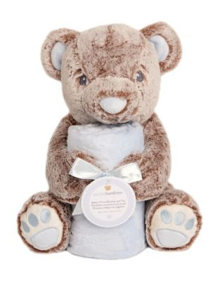 Blankets & Throws Beautiful Micro Terry Baby Blanket With Pink Spotty Bear Plush Toy 2019 Official