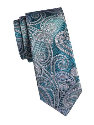 7a66bec5c046 Product image. QUICK VIEW. Linea In. Paisley Print Silk Tie