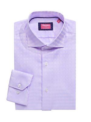 beb2c700 QUICK VIEW. Impuntura. Slim-Fit Checkered Dress Shirt. $79.50 Now $55.65.  everyday value · Spread Collar ...