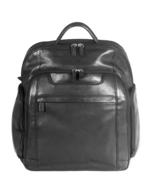 ee5363707c Perforated Leather Backpack COGNAC. QUICK VIEW. Product image