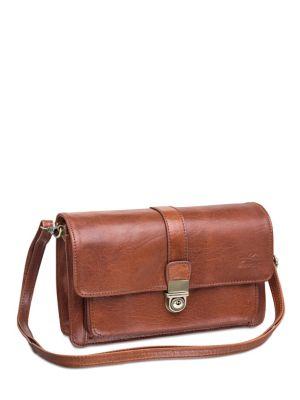 a616914f642e Product image. QUICK VIEW. Mancini. Arizona Leather Organizer Crossbody Bag