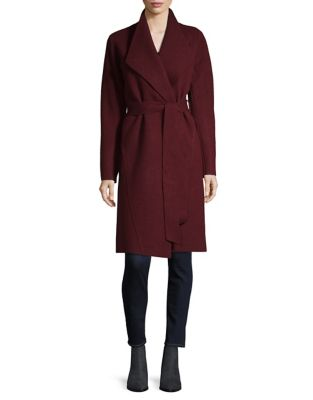 Sven Wrap Coat by Line