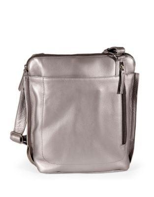 Quick View Derek Alexander Large Leather Crossbody Bag
