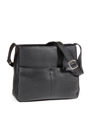 5cacffea7290 Product image. QUICK VIEW. Derek Alexander. Pebbled Leather Shoulder Bag