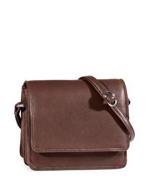04c33e04561 Product image. QUICK VIEW. Derek Alexander. Central Park Three-Quarter Flap  Organizer Crossbody Bag