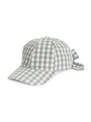 c5ff391c838 QUICK VIEW. Etereo. Gingham Bow Back Cap
