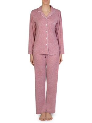 Two-Piece Printed Jersey Pyjama Set 7449bca99