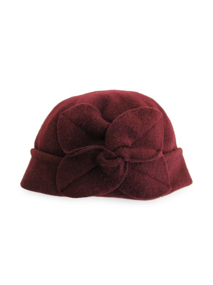 Parkhurst - Twist Flower Wool Bucket Hat - thebay.com 14cb682ad89