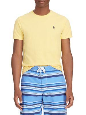 4148a18a8 QUICK VIEW. Polo Ralph Lauren. Custom Slim-Fit Cotton Tee