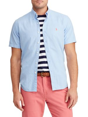 921549f18 QUICK VIEW. Polo Ralph Lauren. Big   Tall Classic-Fit Oxford Button-Down  Shirt