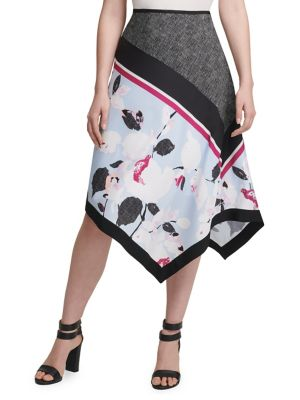 Bright Black Pull On Pencil Skirt Size L To Adopt Advanced Technology Skirts Clothing, Shoes & Accessories