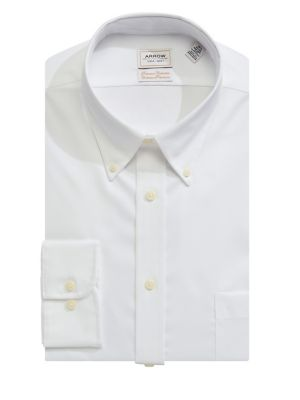 b13da1e29be1 Solid Cotton Dress Shirt WHITE. QUICK VIEW. Product image