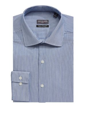 a9e15672719 QUICK VIEW. Van Heusen. Slim Fit Striped Long Sleeve Dress Shirt