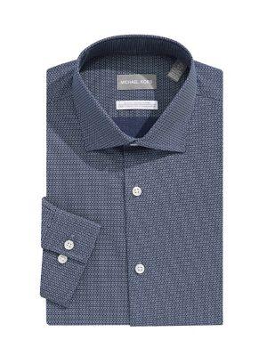 d7c35c695556b6 QUICK VIEW. Michael Michael Kors. Slim Fit Long Sleeve Button-Down Shirt