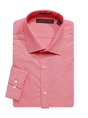 698c47a6f3ca Slim Fit Long Sleeve Dress Shirt ROSE. QUICK VIEW. Product image