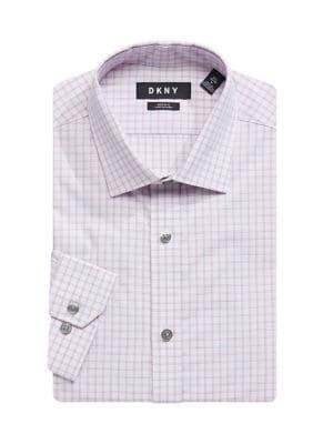 3ece815e3d53 QUICK VIEW. DKNY. Regular-Fit Windowpane Plaid Dress Shirt
