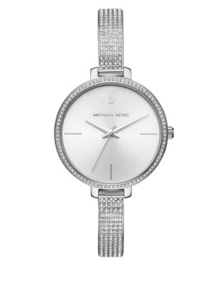 7834296a3 QUICK VIEW. Michael Kors. Jaryn Silver-Tone Stainless Steel Watch