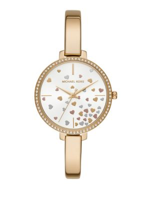 f340c6d9f67a Product image. QUICK VIEW. Michael Kors. Jaryn Three-Hand Gold-Tone  Stainless Steel Watch