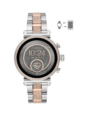 05ab4efef50e QUICK VIEW. Michael Kors. Sofie 2.0 Stainless Steel Smart Watch