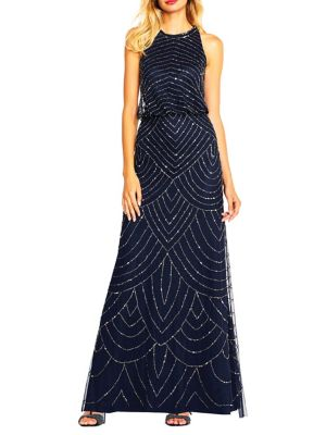 fc8275f4eace Product image. QUICK VIEW. Adrianna Papell. Beaded Sleeveless Gown