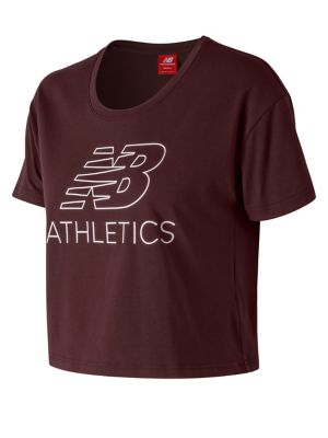 Athletics Cropped Tee by New Balance