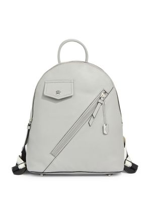 c21869276 Shoptagr | Jagger Leather Backpack by Dkny