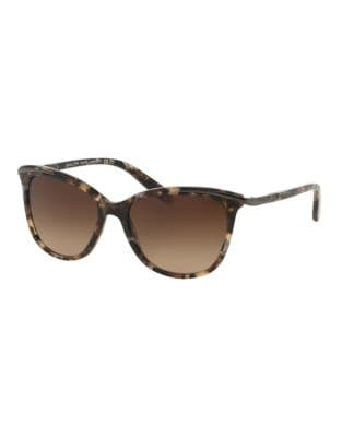 Ralph Lauren Essential 54mm Extended Temple Inlayed Cat-Eye Sunglasses