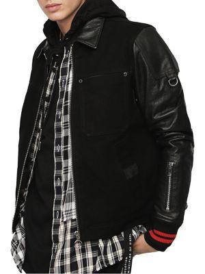 Homme - Vêtements pour homme - Manteaux et vestes - Vestes en cuir ... 6afab7e1a36