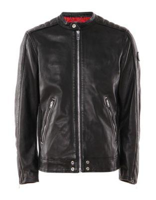 afbca2b5d27 Homme - Vêtements pour homme - Manteaux et vestes - Vestes en cuir ...