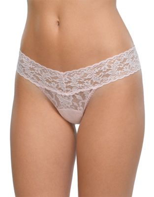 903aacb818c Signature Lace Low-Rise Thong MARSHMELLOW. QUICK VIEW. Product image. QUICK  VIEW. Hanky Panky