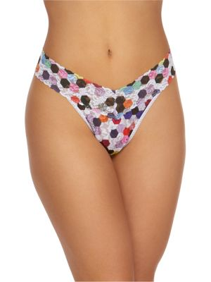 fcabe6b4ba2 QUICK VIEW. Hanky Panky. Honeycomb Original Lace Thong