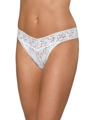 1a3a31ee025e ... Rise Stretch Lace Thong WHITE. QUICK VIEW. Product image. QUICK VIEW. Hanky  Panky