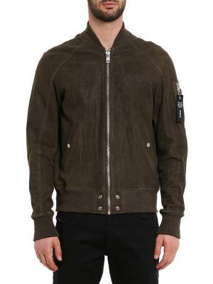 d4f16d87fd Men - Men's Clothing - Coats & Jackets - Leather & Suede Jackets ...