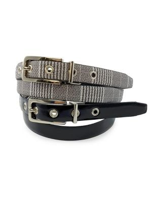16a9fe8b4f7 Product image. QUICK VIEW. Fashion Focus. Elongated Buckle Reversible Belt