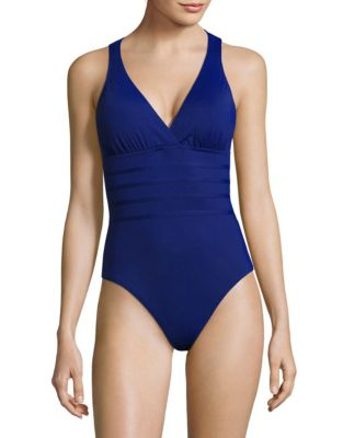 22aea4901f QUICK VIEW. La Blanca. Island Goddess Multi-Strap Cross-Back Swimsuit