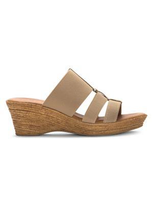 de5f99bd2a QUICK VIEW. Italian Shoemakers. Cut-Out Wedge Sandals