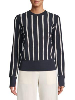 c9271c24682970 QUICK VIEW. Equipment. Amrit Striped Sweater