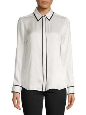 511dfd12fc27e Product image. QUICK VIEW. Equipment. Classic Silk Blend Top
