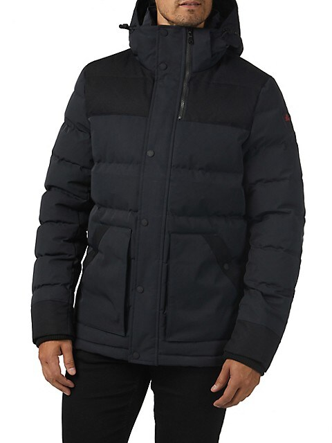 Pajar Locarno Channel Quilted Puffer Jacket