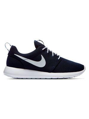 Cheap Nike Air Max 1 Essential Knit Black Mens Trainers